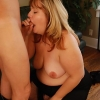 Delightful blonde FAT GIRL Bree drops the beguiling girl act to satisfy a steamy dude by giving off a blowjob